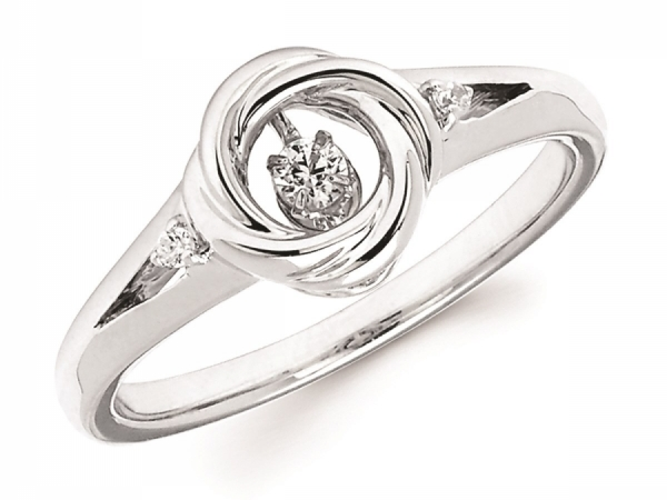 Rings - SS Shimmering Diamond Ring